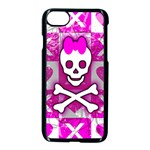 Skull Princess iPhone 7 Seamless Case (Black)