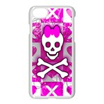 Skull Princess iPhone 7 Seamless Case (White)