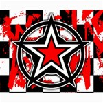 Star Checkerboard Splatter Canvas 16  x 20