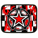 Star Checkerboard Splatter Netbook Case (Large)