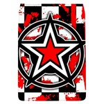 Star Checkerboard Splatter Removable Flap Cover (S)