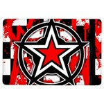 Star Checkerboard Splatter Apple iPad Air Flip Case