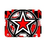 Star Checkerboard Splatter Double Sided Flano Blanket (Mini)