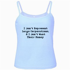 Don t Represent Large Corporations Ladies Camisoles by WensdaiAmbrose