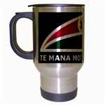 Tuhoe Flag Travel Mug (Silver Gray)