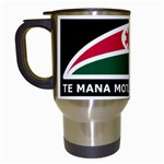 Tuhoe Flag Travel Mug (White)