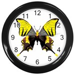 Butterfly M2 Wall Clock (Black)