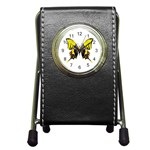 Butterfly M2 Pen Holder Desk Clock