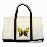 Butterfly M2 Two Tone Tote Bag