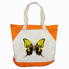 Butterfly M2 Accent Tote Bag from UrbanLoad.com Front