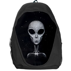 Alien Backpack Bag by trulycreative