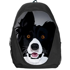 Collie Rough Puppy Backpack Bag by trulycreative