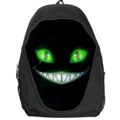 Scary Monster Cat Face Backpack Bag by trulycreative