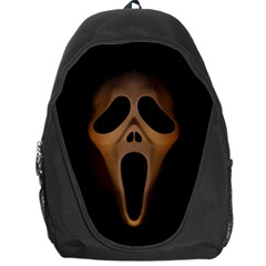 Spooky Halloween Mask Backpack Bag by trulycreative