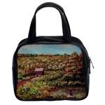 Hillside Homestead In  October 2 2m Classic Handbag (Two Sides)