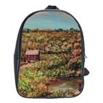 Hillside Homestead In  October 2 2m School Bag (Large)