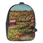 Hillside Homestead In  October 2 2m School Bag (XL)