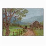 Amish Buggy Going Home Postcard 5  x 7