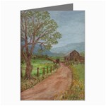 Amish Buggy Going Home Greeting Cards (Pkg of 8)