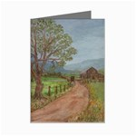 Amish Buggy Going Home Mini Greeting Card
