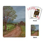Amish Buggy Going Home Playing Cards Single Design (Rectangle)
