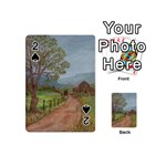 Amish Buggy Going Home Playing Cards 54 Designs (Mini)