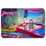 Christmas Ornaments and Gifts Large Doormat