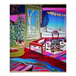 Christmas Ornaments and Gifts Shower Curtain 60  x 72  (Medium)