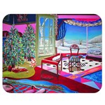 Christmas Ornaments and Gifts Double Sided Flano Blanket (Medium)