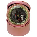 Goth Skull and Blood in Dungeon Jewelry Case Clock
