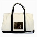 Goth Skull and Blood in Dungeon Two Tone Tote Bag