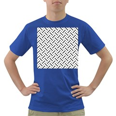 Design Repeating Seamless Pattern Geometric Shapes Scrapbooking Dark T Shirt