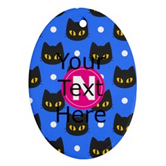 Personalized Monogrammed Oval Ornament by Wanni