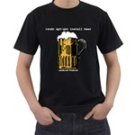 apt-get beer Black T-Shirt