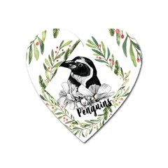 Penguin Magnet (heart) by xmasyancow
