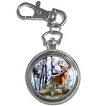 Deer Hunter Key Chain Watch