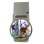 Deer Hunter Money Clip (Round)