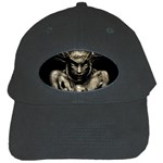 Zombie Walking Dead Earth Woman Black Cap