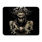 Zombie Walking Dead Earth Woman Small Mousepad