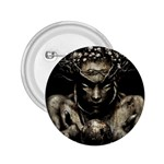 Zombie Walking Dead Earth Woman 2.25  Button