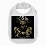 Zombie Walking Dead Earth Woman Bib