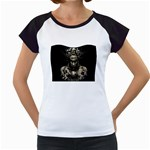 Zombie Walking Dead Earth Woman Women s Cap Sleeve T