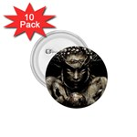 Zombie Walking Dead Earth Woman 1.75  Button (10 pack)