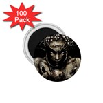 Zombie Walking Dead Earth Woman 1.75  Magnet (100 pack)