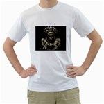 Zombie Walking Dead Earth Woman White T-Shirt