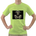 Zombie Walking Dead Earth Woman Green T-Shirt