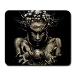 Zombie Walking Dead Earth Woman Large Mousepad