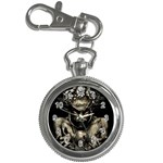 Zombie Walking Dead Earth Woman Key Chain Watch