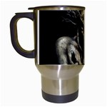 Zombie Walking Dead Earth Woman Travel Mug (White)