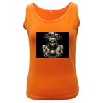 Zombie Walking Dead Earth Woman Women s Dark Tank Top